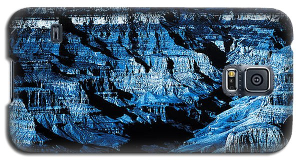 Grand Canyon In Blue Galaxy S5 Case