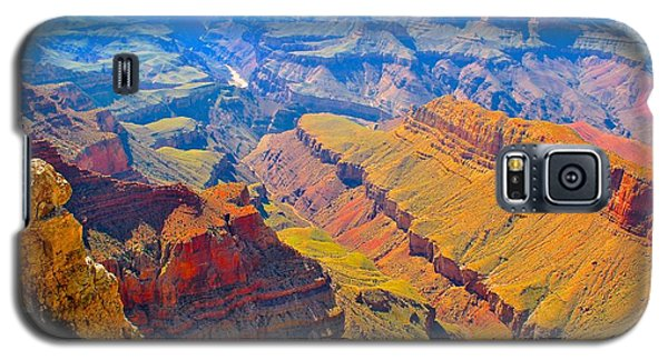 Grand Canyon In Vivid Color Galaxy S5 Case by Jim Hogg