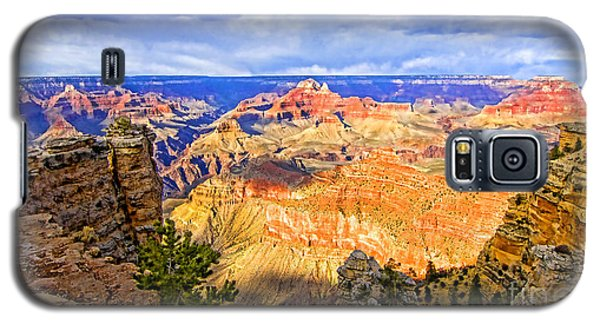 Galaxy S5 Case featuring the photograph Grand Canyon by Jason Abando