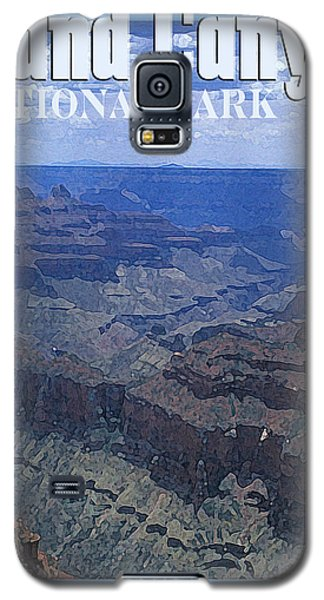 Grand Canyon National Park Vintage Style Galaxy S5 Case