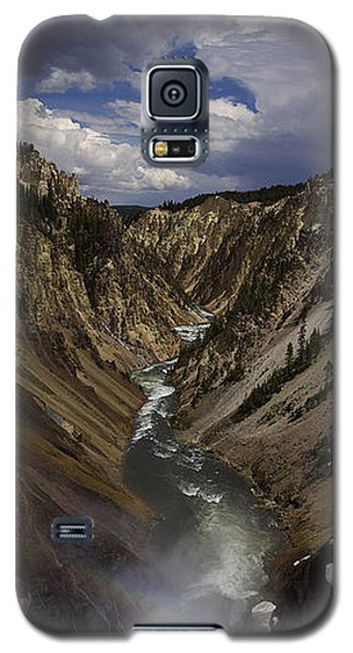 Galaxy S5 Case featuring the photograph Grand Canyon Of The Yellowstone - 25x63 by J L Woody Wooden