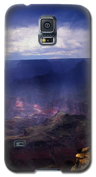 Galaxy S5 Case featuring the photograph Grand Canyon Oil by James Bethanis