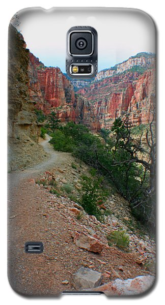 Galaxy S5 Case featuring the photograph Grand Canyon Or Bust by Jon Emery