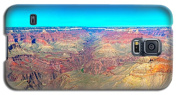 Galaxy S5 Case featuring the photograph Grand Canyon Panorama by Penny Lisowski