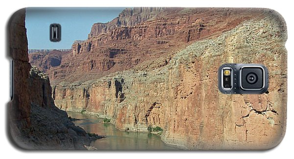 Galaxy S5 Case featuring the photograph Grand Canyon Shadows by Tony Mathews