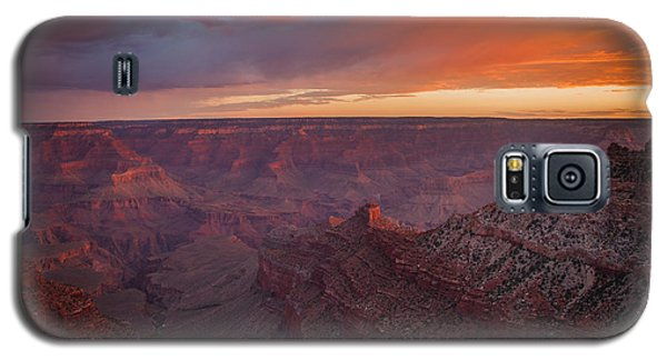 Galaxy S5 Case featuring the photograph Grand Canyon Sunrise by James Bethanis