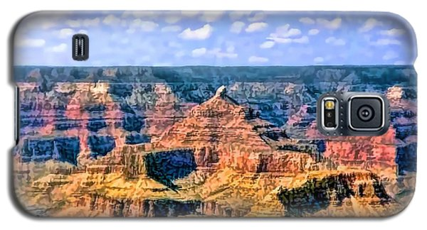 Galaxy S5 Case featuring the painting Grand Canyon by Tracie Kaska