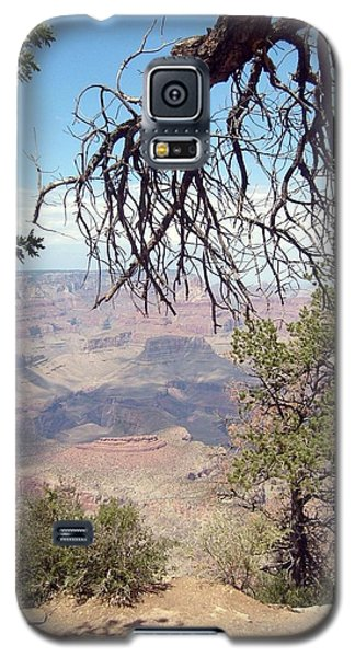 Galaxy S5 Case featuring the photograph Grand Canyon View 1 by Philomena Zito