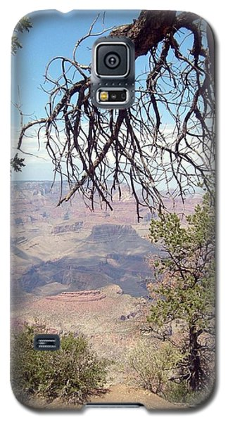 Grand Canyon View 1 Galaxy S5 Case by Philomena Zito