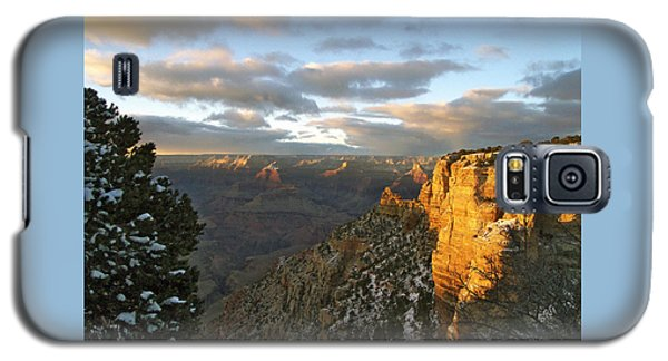 Grand Canyon. Winter Sunset Galaxy S5 Case by Ben and Raisa Gertsberg