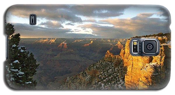 Grand Canyon. Winter Sunset Galaxy S5 Case