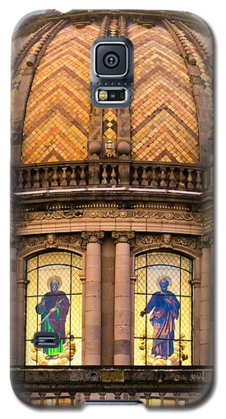 Grand Cathedral Of Guadalajara Galaxy S5 Case by David Perry Lawrence