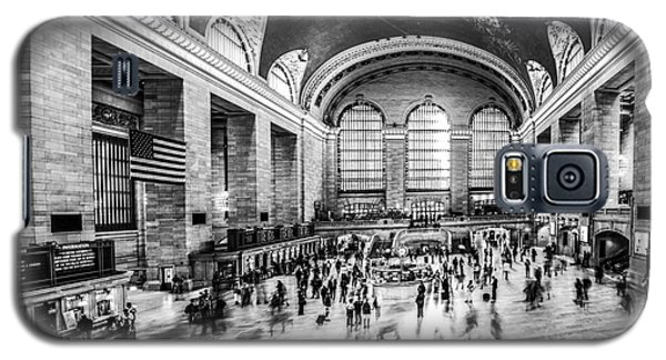 Grand Central Station -pano Bw Galaxy S5 Case