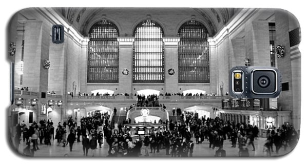Grand Central Terminal Black And White Galaxy S5 Case