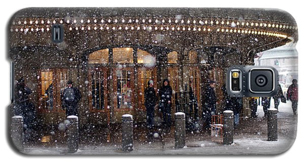 Grand Central Terminal Snow Color Galaxy S5 Case