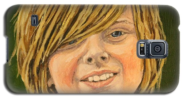 Galaxy S5 Case featuring the painting Grand Christian by Wendy Shoults