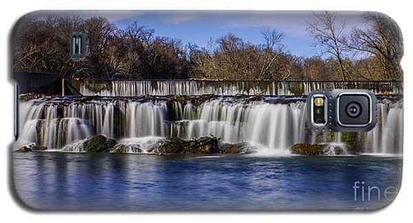 Grand Falls In Joplin Missouri Galaxy S5 Case by Jennifer White
