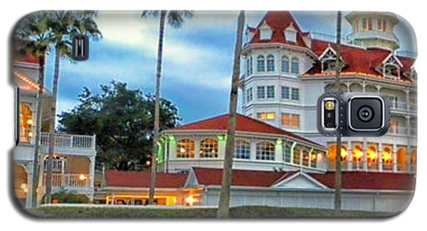 Grand Floridian Resort Walt Disney World Galaxy S5 Case by Thomas Woolworth