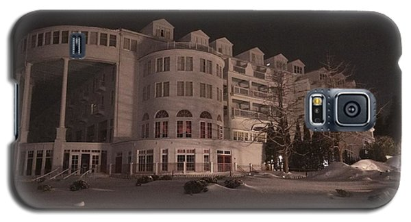 Grand Hotel On A Winter Night Galaxy S5 Case