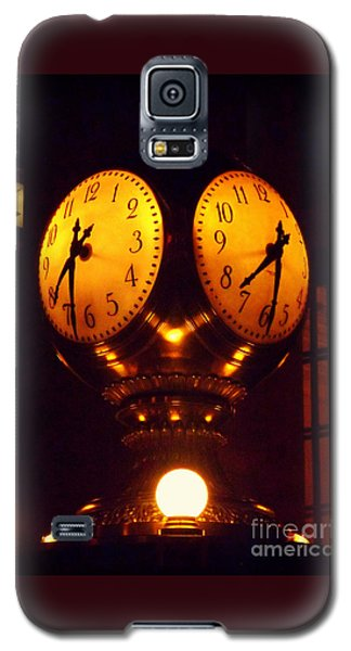 Grand Old Clock - Grand Central Station New York Galaxy S5 Case by Miriam Danar