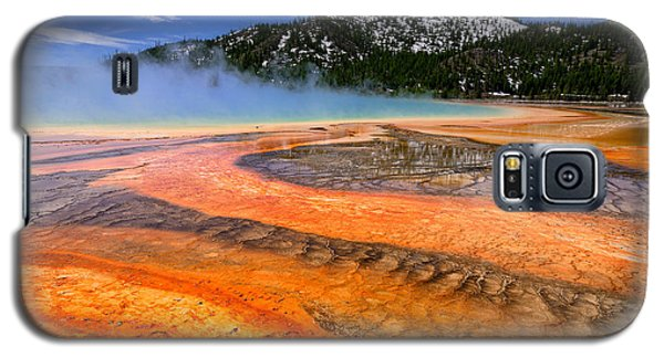 Grand Prismatic Spring Boardwalk View Galaxy S5 Case