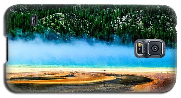 Grand Prismatic Spring  Lan 789 Galaxy S5 Case