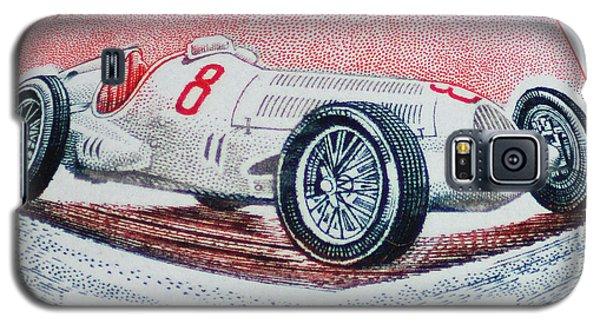 Grand Prix De Monaco 1936 Vintage Postage Stamp Print Galaxy S5 Case