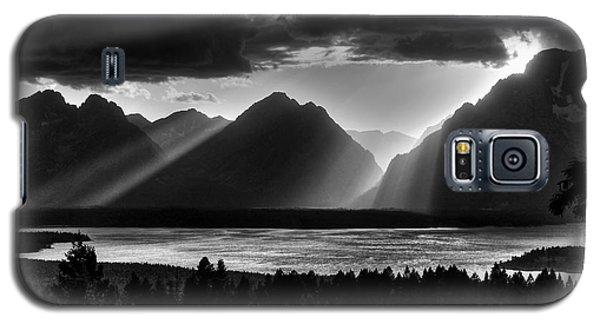 Grand Teton Light Beams Galaxy S5 Case