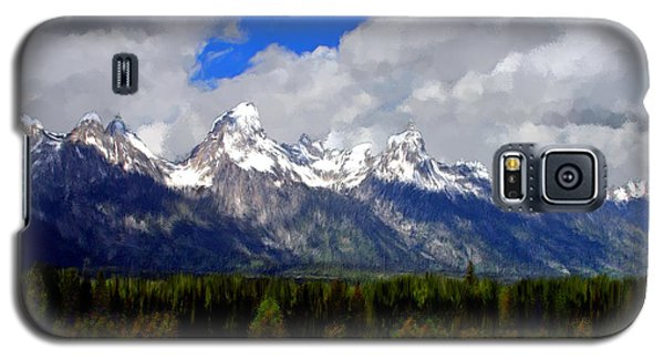Grand Teton Mountains Galaxy S5 Case by Bruce Nutting