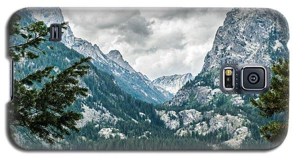Grand Teton Mt.lake Lan 558 Galaxy S5 Case