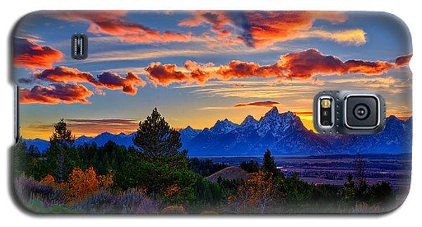 Grand Teton Sunset Galaxy S5 Case