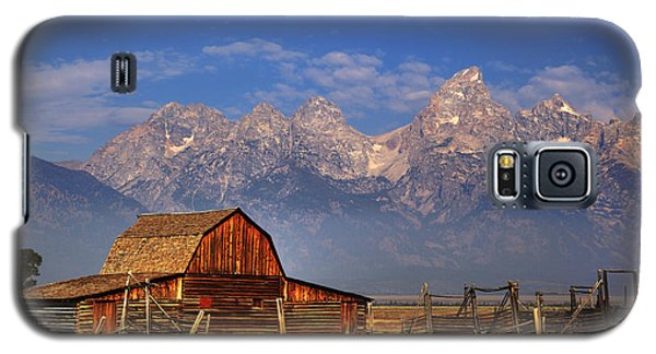 Grand Tetons From Moulton Barn Galaxy S5 Case