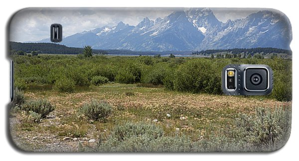 Grand Tetons From Willow Flats Galaxy S5 Case by Belinda Greb