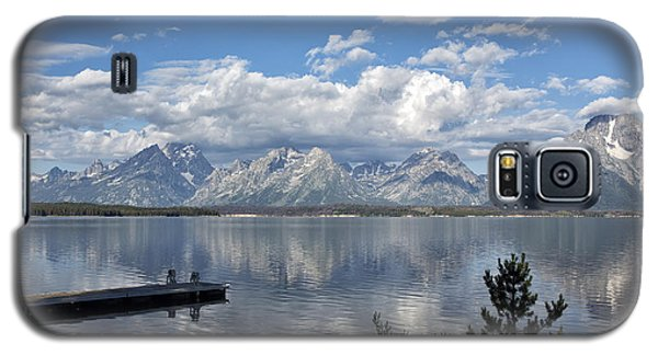 Grand Tetons In The Morning Light Galaxy S5 Case