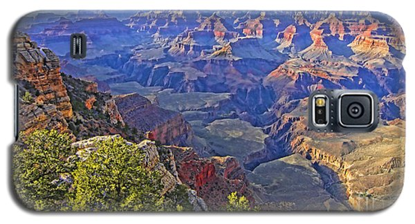 Galaxy S5 Case featuring the photograph Grand View Canyon by Jason Abando