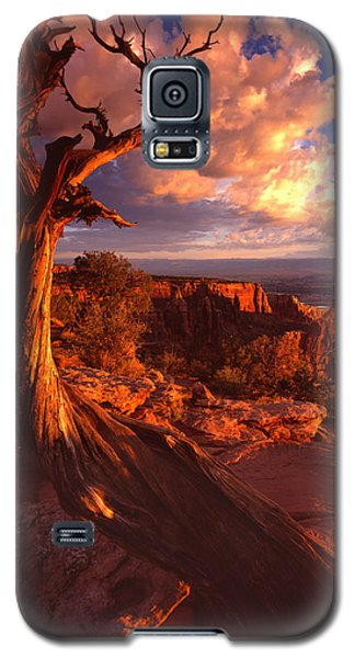 Grand View Point Sunrise Galaxy S5 Case