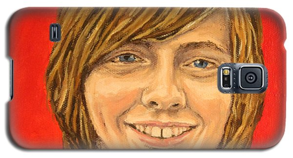Galaxy S5 Case featuring the painting Grand Zach by Wendy Shoults