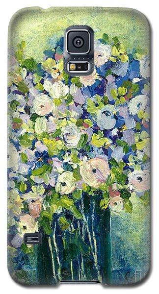 Grandma's Flowers Galaxy S5 Case