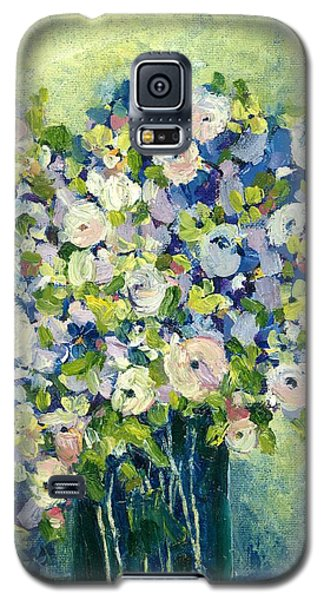 Grandma's Flowers Galaxy S5 Case