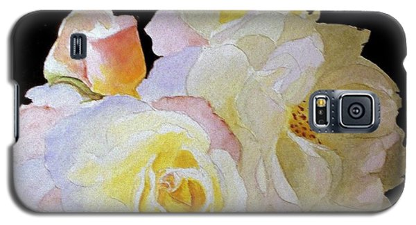 Grandmas Roses Of Color Galaxy S5 Case by Carol Grimes