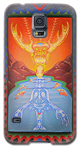 Grandmother Grandfather Galaxy S5 Case