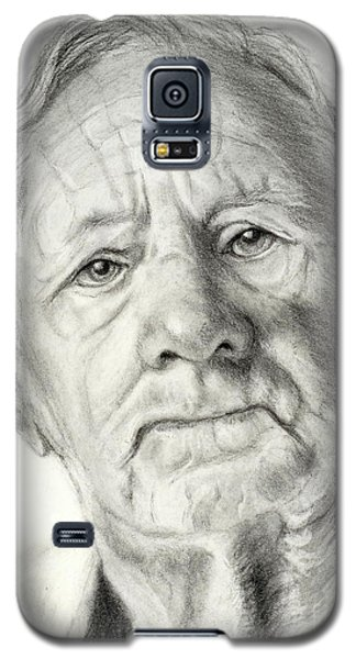 Grandpa Full Of Grace Drawing Galaxy S5 Case