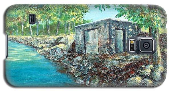Grandpa's Boathouse Galaxy S5 Case by Susan DeLain