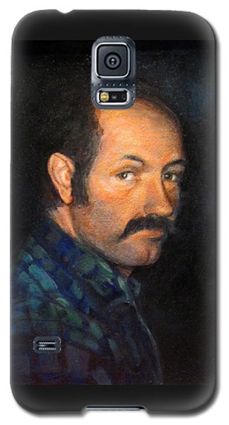 Galaxy S5 Case featuring the painting Grant by Donna Tucker