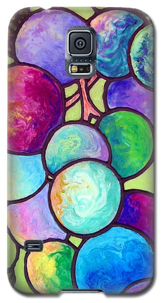 Galaxy S5 Case featuring the painting Grape De Chine by Sandi Whetzel