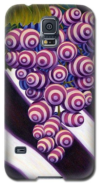 Galaxy S5 Case featuring the painting Grape De Menthe by Sandi Whetzel