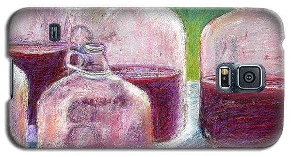 Grape Stomp Residuals Pastel Galaxy S5 Case by Antonia Citrino