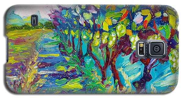 Grape Vines Painting Galaxy S5 Case