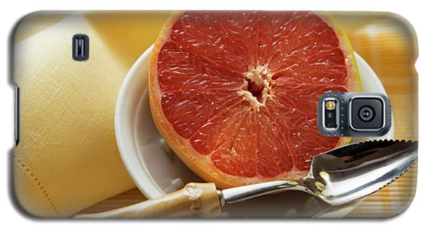 Grapefruit Half With Grapefruit Spoon In A Bowl Galaxy S5 Case