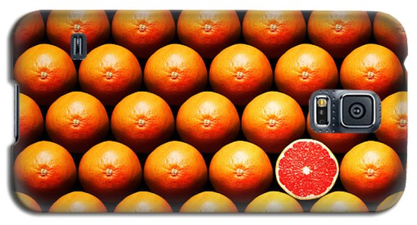 Fruits Galaxy S5 Case - Grapefruit Slice Between Group by Johan Swanepoel